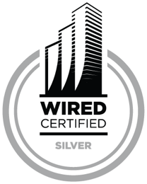 6100 Merriweather is a Wired Certified Silver Building